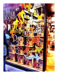 National Bookshop Day window featuring 'The Lost Thing' by Shaun Tan