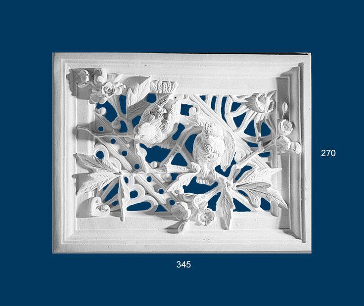 Decorative Plaster Vents BVT006