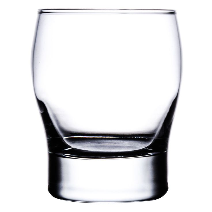 Old Fashioned / Manhattan glass - sticking with circular trend in all glasses!  Libbey 2394 Perception 12 oz. Double Old Fashioned Glass - 24 / Case