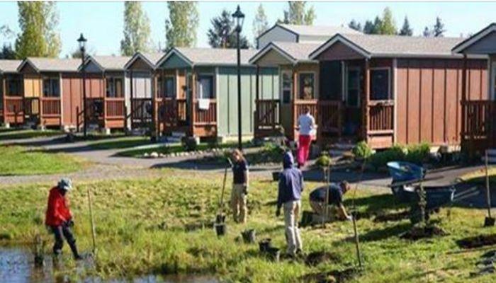 Group To Build Tiny Homes Community For Homeless Veterans Tinyhomescommunity Tiny House Village Homes For Veterans Tiny House