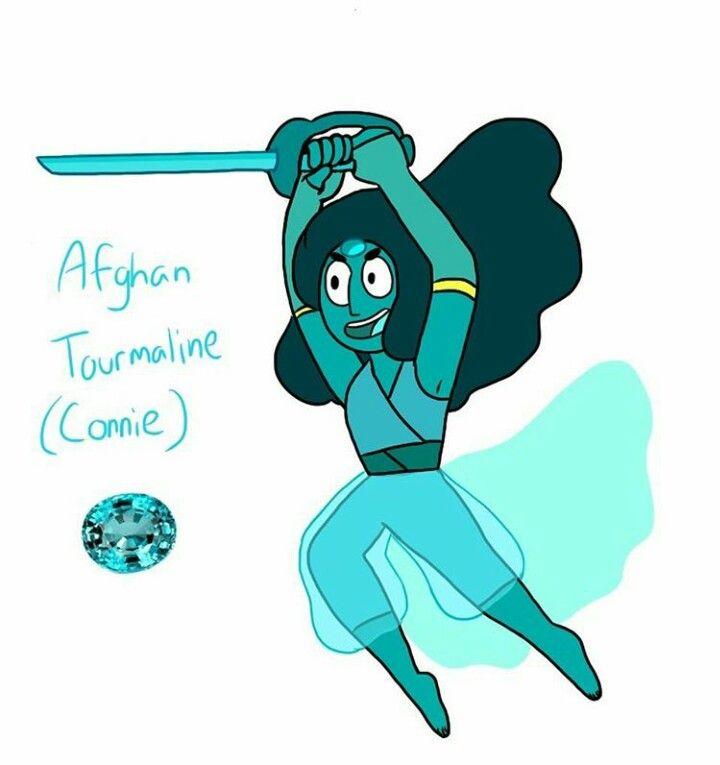 Afghan Tourmaline(Connie) FanGem Human Gem Steven Universe