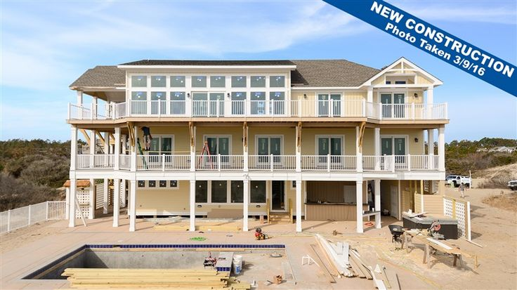 Twiddy Outer Banks Vacation Home You Are My Sunshine Corolla Oceanfront 10 Bedrooms