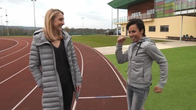 Paula Radcliffe's marathon tips for Dame Kelly Holmes