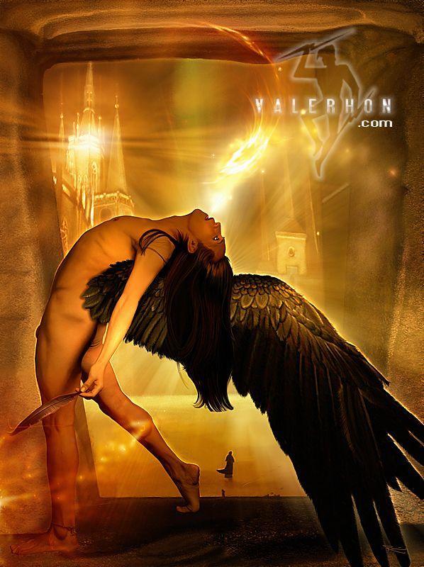это, фото падшего ангела разума крыльев