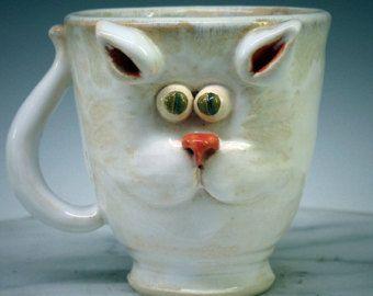 Cat Mug -  Super cute!!!