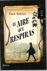 """""""El aire que respiras es un canto de amor a los libros, pero también a la ciudad de Barcelona"""" la historia comienza cuando Virgina hereda un negocio familiar: la librería Palinuro"""