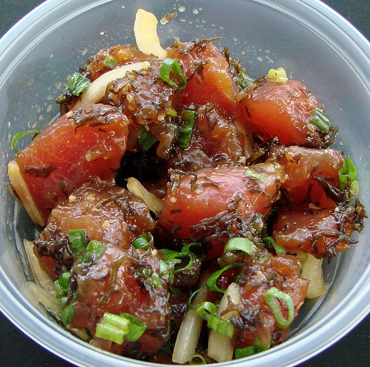Ahi Limu Poke.: Desserts, Ahi Bowls, Ahi Limu, Dinners, Bowls Yum, Hawaiian Specialty, Poke Bowls Hawaii, Ahi Poke, Ahi Limo