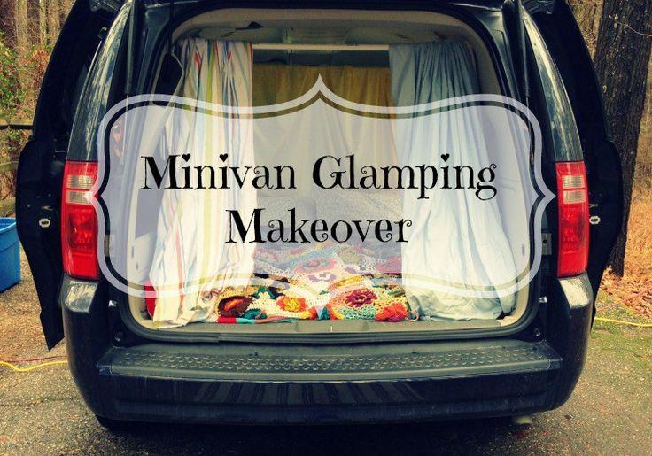 Mini glamping in a minivan   Jeanetta Darley