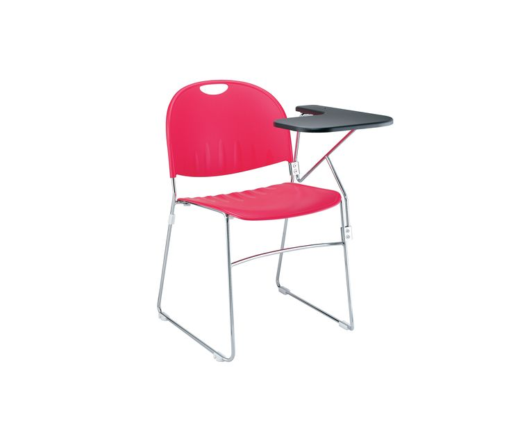 #Muzo Ultrastack chair with tablet.