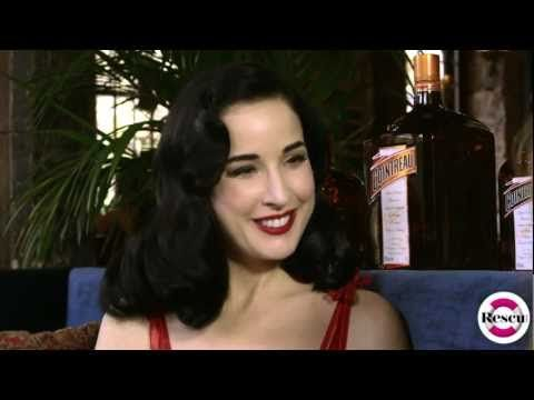 Dita Von Teese on her Signature Style, Fragrances, Lingerie and Beauty Video - YouTube