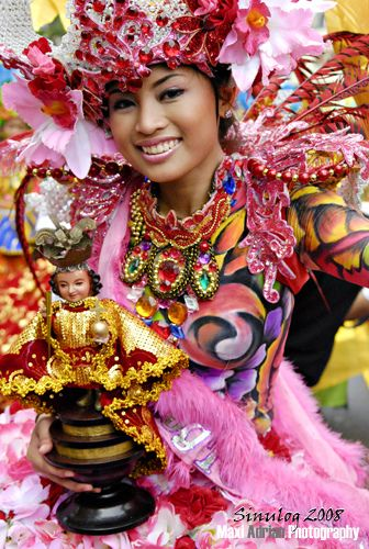 Go to Cebu and see how they celebrate Sinulog festival