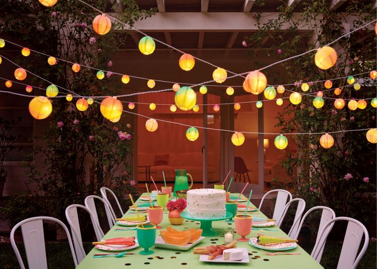 Your guests will want to chat late into the evening with these lanterns lighting the way! The Oh Joy for Target collection launches online and in stores March 16.: Parties Collection, Spring Parties, Oh Joy, Outdoor Parties, Dinners Parties, Parties Ideas, Gardens Parties, Summer Night, Home Decor Colors