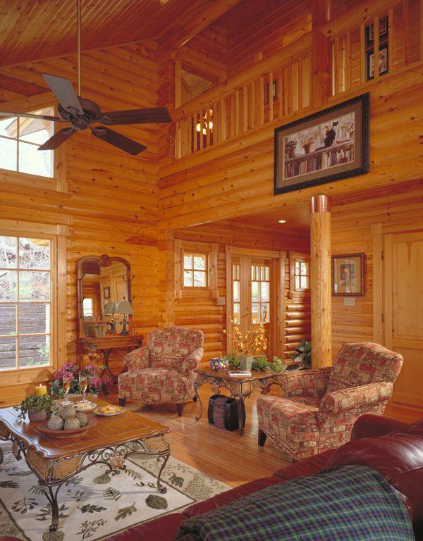 137 Best Images About Log Homes On Pinterest Log Cabin