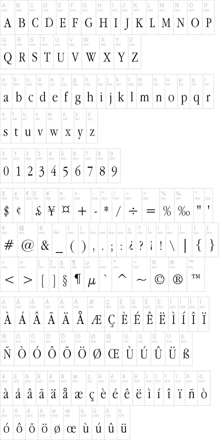 Apple Garamond Font | dafont.com