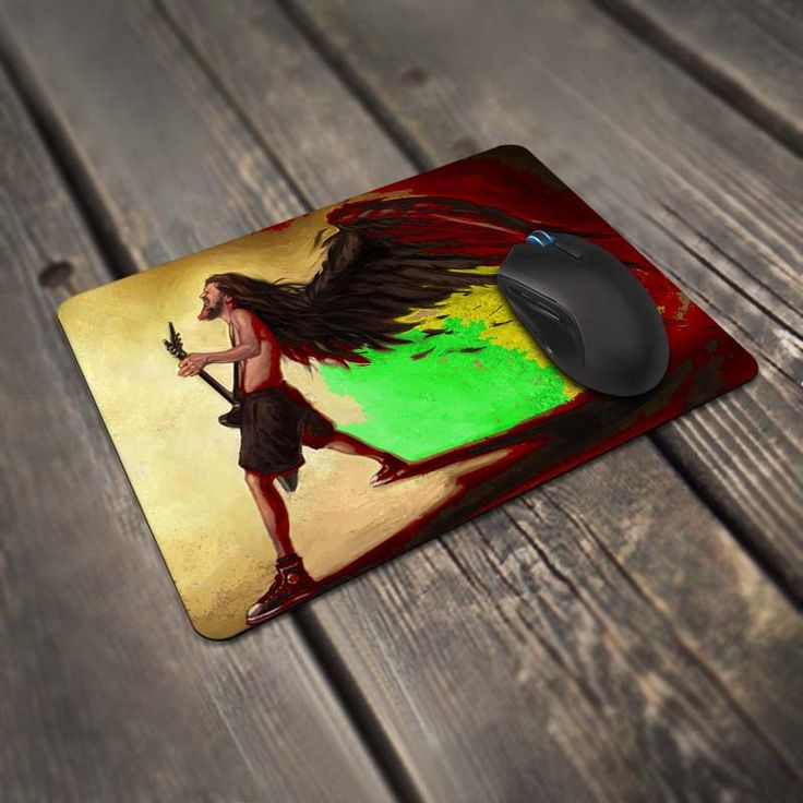 Music Dimebag Darrell Gaming Mouse Mats Mice Pad for Size 220*180mm and 250*290mm