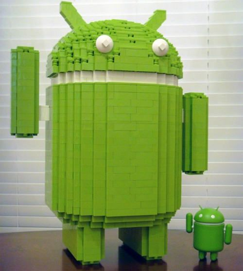 Android Lego!! wheee