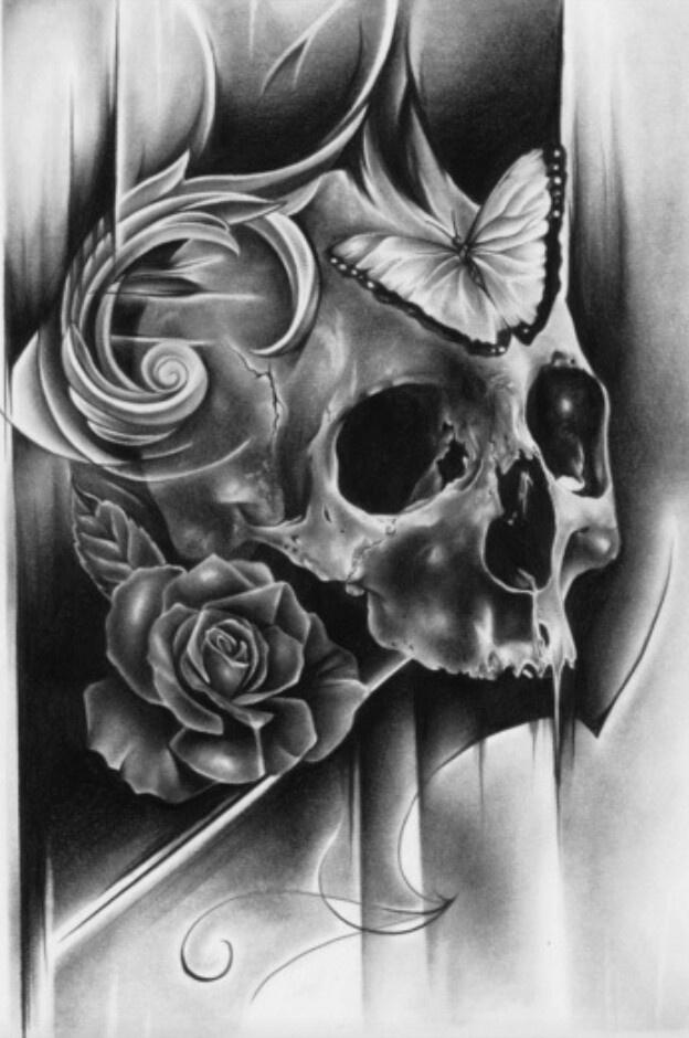 pin von mike james auf everything skull pinterest totenkopf tattoos mann frau und totenk pfe. Black Bedroom Furniture Sets. Home Design Ideas