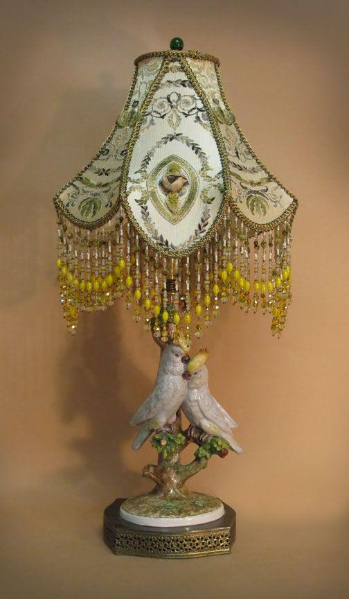 White Feather Floor Lamp