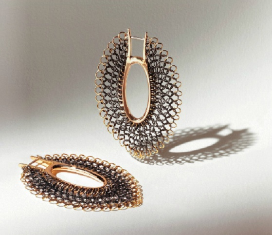 Gioielli in Fermento 2013 - Giancarlo Montebello - 'soften ellipse' earrings