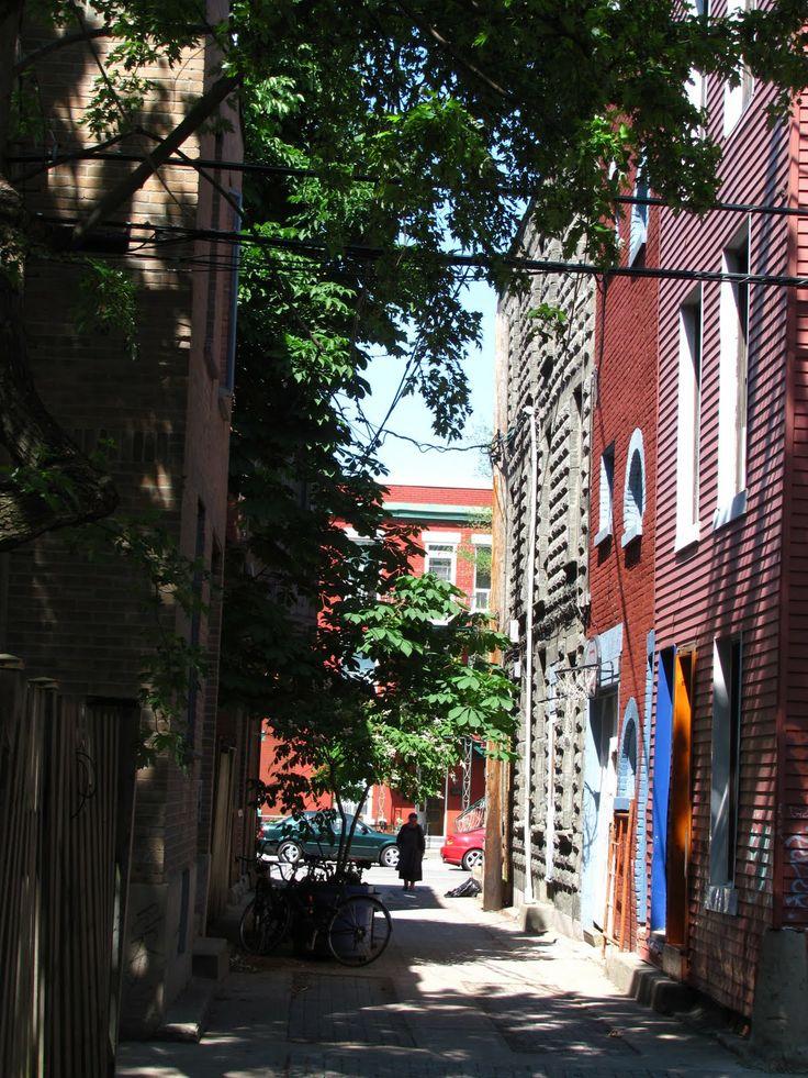 Ruelles de Montréal - Montreal's   back alley