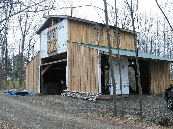 DIY Monitor Barn w/ loft | Shed or Barn idea | Barn, Garage, Garage doors