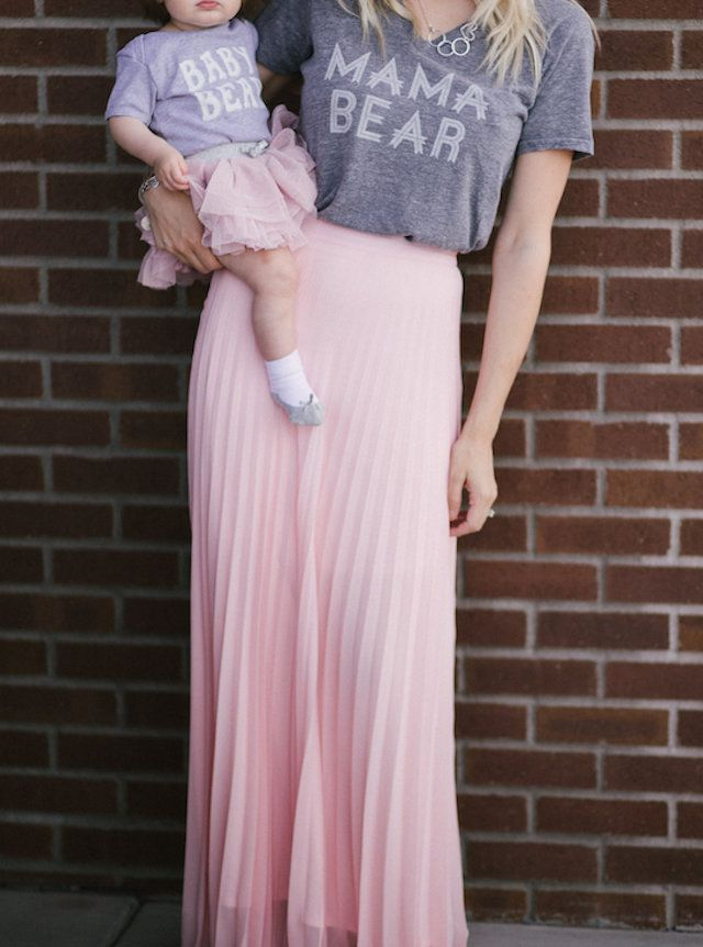 Mommy & Me Style Ideas | Mommy and Me outfits | Mom and baby | mom and daughter matching outfits | mama and baby matching
