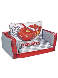 Disney Cars Speed Circuit Flip Out Sofa - This Disney Cars Speed Circuit Flip Out Sofa is a great addition to any bedroom or playroom.