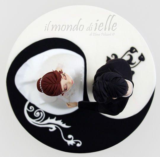 34 best yin yang cake images on pinterest yin yang cake
