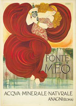Nonni, Francesco poster: Fonte Meo - Acqua Minerale Naturale