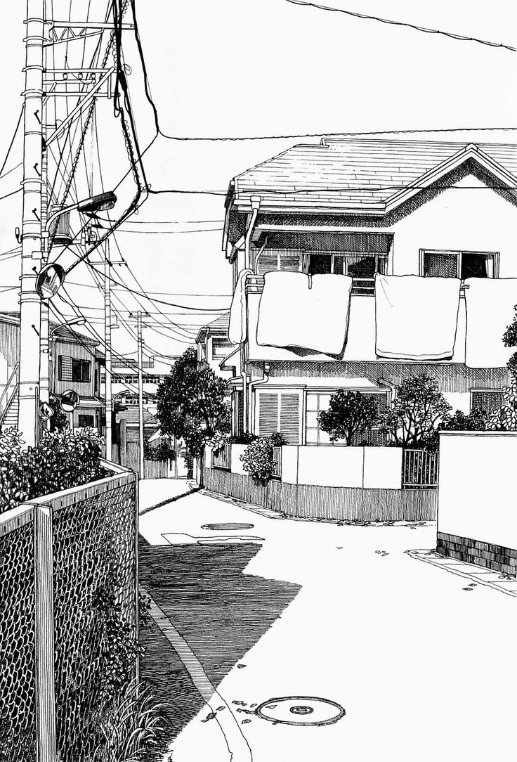 Paisaje urbano a líneas