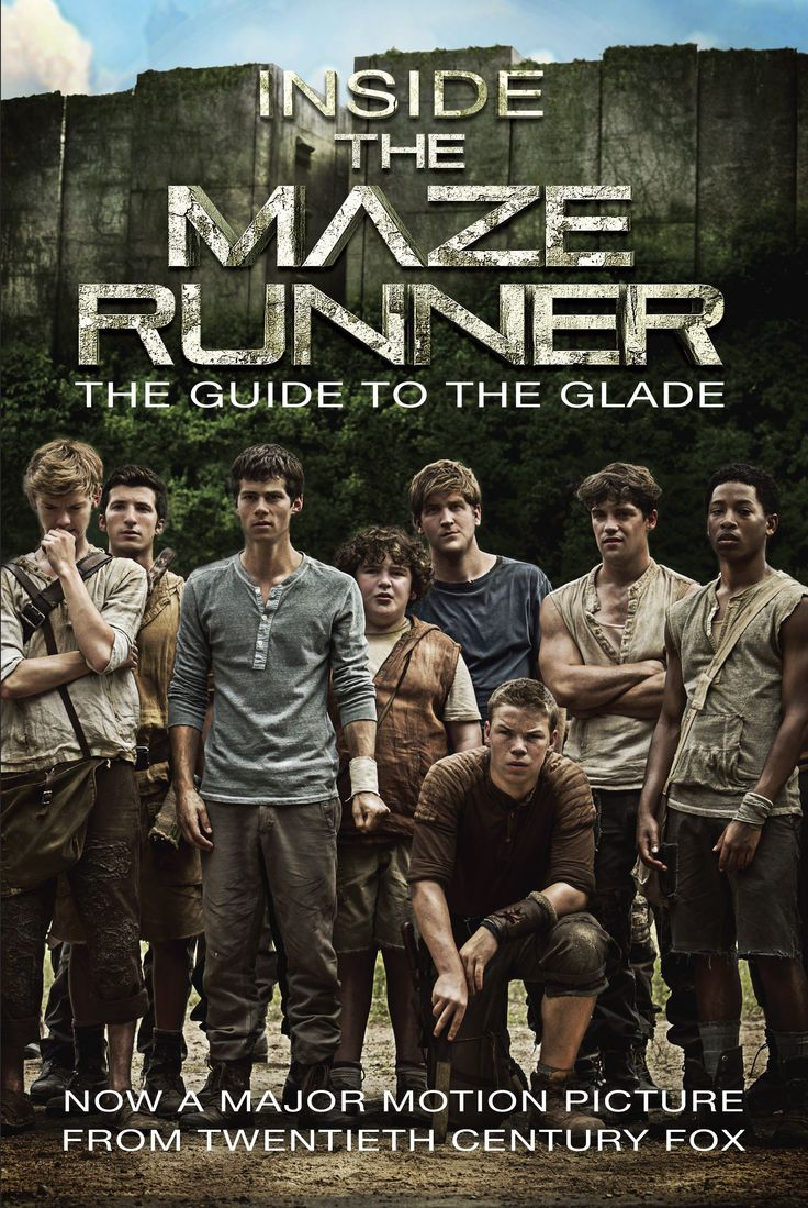 """The Maze Runner"" doesn't hit theaters until September 19, but you can help stave your anticipation with two new(ish) books from Random House."