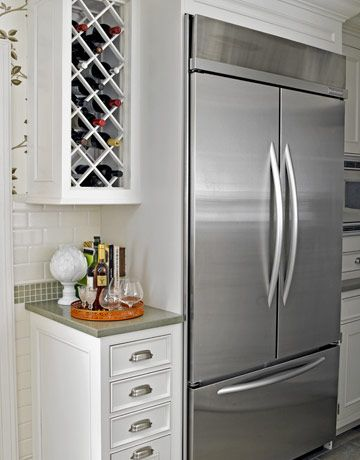 Tudor Home Renovation. Kitchenaid RefrigeratorCounter Depth RefrigeratorKitchen  CabinetsAbove ...