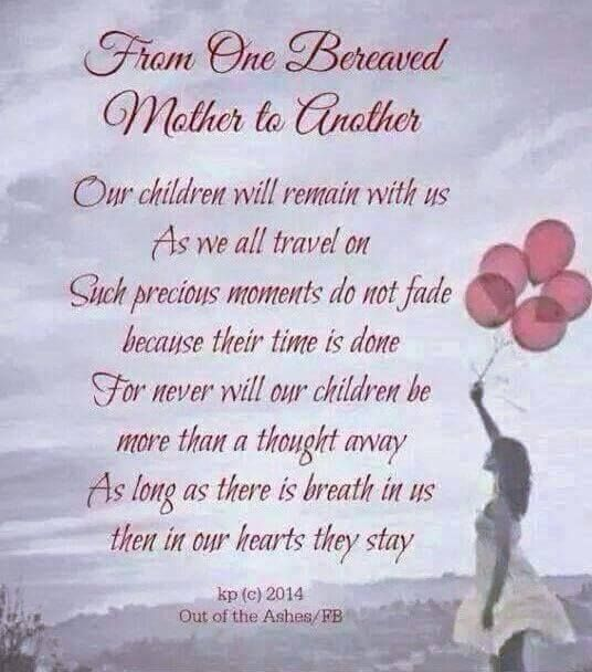 Quotes For A Mother Who Lost Her Baby: International Bereaved Mother's Day