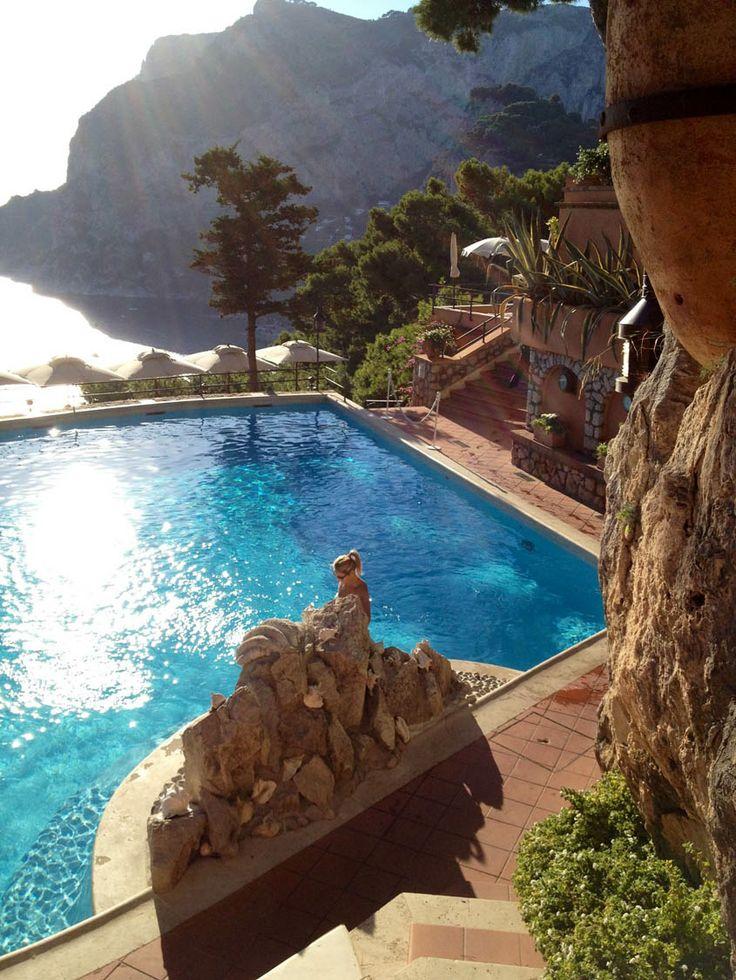 Punta Tragara...magic pool