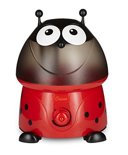 Crane USA Cool Mist Humidifiers for Kids, Lady Bug #Crane #Cool #Mist #Humidifiers #Kids, #Lady