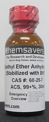 #manythings #Diethyl Ether, ACS, 99+%, 30ml (for Photographic Applications) By ordering this chemical you agree that you are least 21 and that you understand thi...