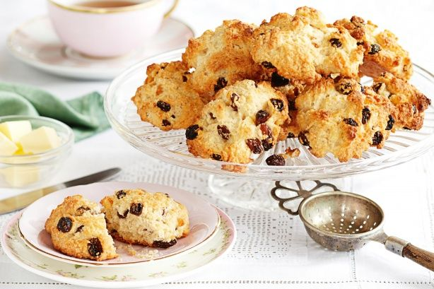 Get nostalgic with these tasty little Rock cakes.