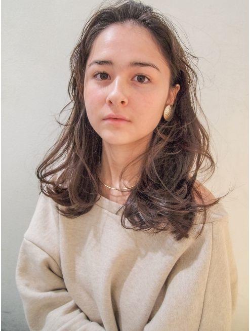 シマ キチジョウジ プラスワン(SHIMA KICHIJOJI PLUS1)[SHIMA/安藤圭哉] ハンサムミディ×くせ毛風パーマ