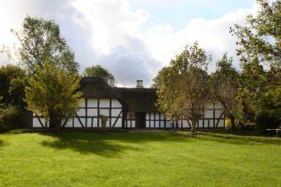 Trelænget husmandssted husmandssted fra Årup - Frilandsmuseet - Nationalmuseet
