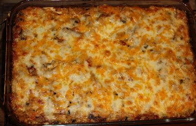 Deep South Dish: King Ranch Casserole - made this recipe tonight for a potluck. Definitely a hit.