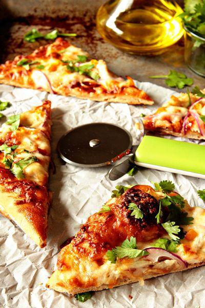 BBQ Chicken Pizza Recipe | My Baking Addiction
