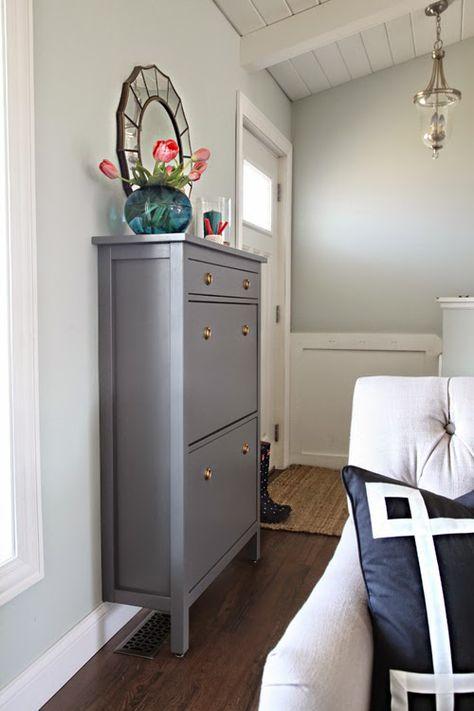 Die besten 25+ Hemnes schuhschrank Ideen auf Pinterest Ikea - hemnes wohnzimmer weis