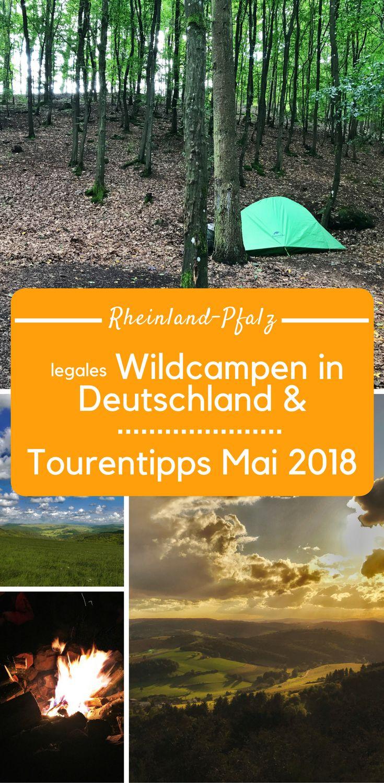 Wildcampen in Deutschland und Tourentipps