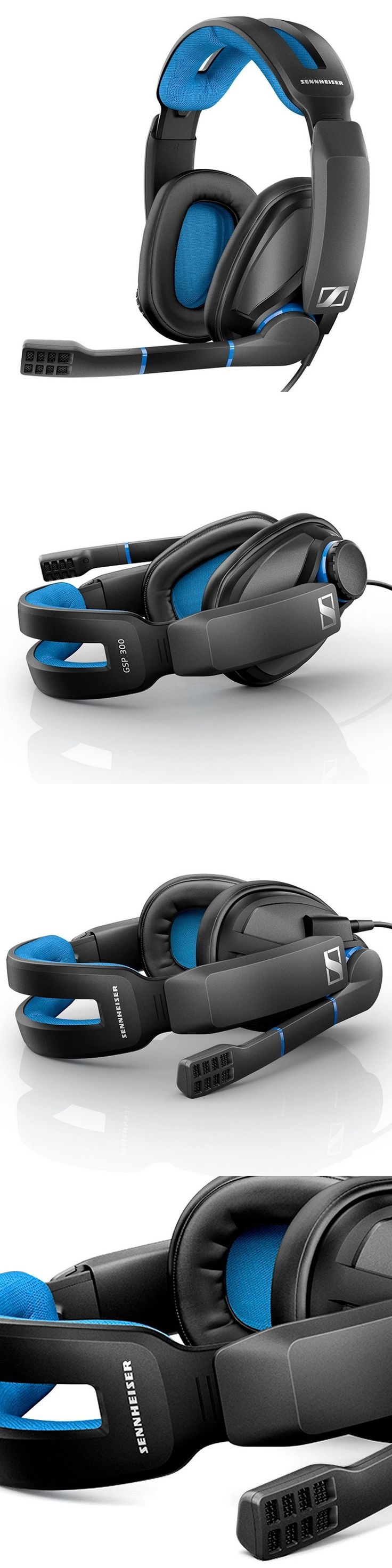 Headsets and Earpieces: Sennheiser Gsp 300 Gaming Headset W Noise Cancelling Microphone For Pcs And Ps4 -> BUY IT NOW ONLY: $79.99 on eBay!