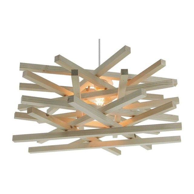 suspensions bois exotique nid taille taille unique. Black Bedroom Furniture Sets. Home Design Ideas