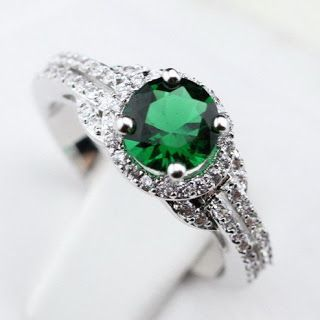 Products that inspire: Handmade Zircon Ring
