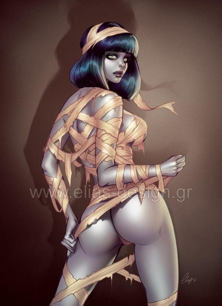 Порно девушка с мумия фото 430-649