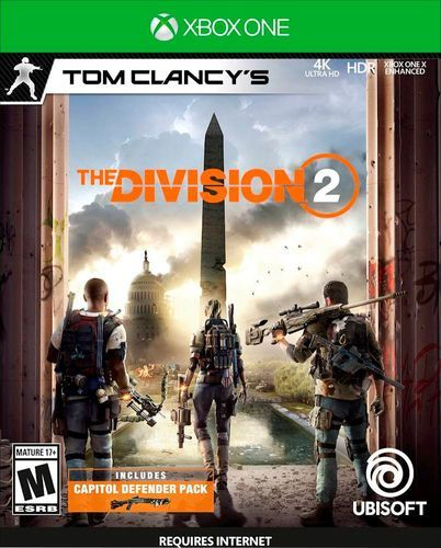 Microsoft Xbox One S 1TB Tom Clancy's The Division 2 Console Bundle 234-00872