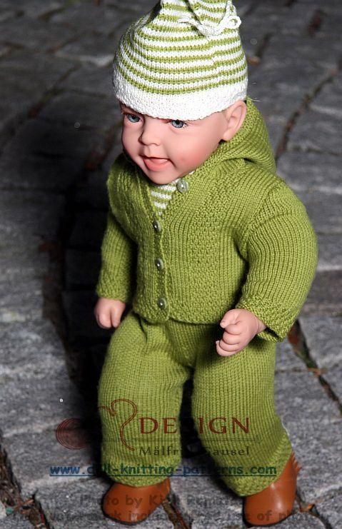 Modèles tricot poupons