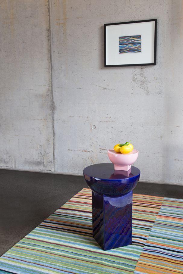 """Vorgestellt auf der imm Cologne 2017: """"Mila Table Small"""", Sebastian Herkner für pulpo. (Foto: pulpo)"""